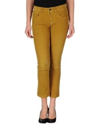 The Editor Casual Pants Ocher