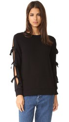 Essentiel Antwerp Long Sleeve Sweatshirt Black