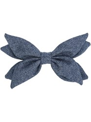 Maison Michel 'Abigail' Hair Bow Grey