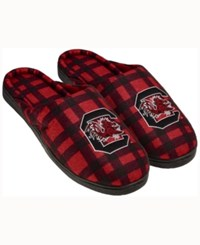 Forever Collectibles South Carolina Gamecocks Flannel Slide Slippers Maroon