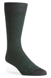 Men's Hook Albert Cable Knit Socks
