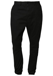 Urban Classics Deep Crotch Chinos Black