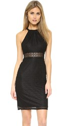 Ali And Jay Lace Halter Dress Black