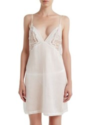 La Perla Jazz Time Short Nightgown White
