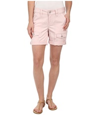Jag Jeans Elsa Relaxed Fit Short In Bay Twill Blush Pink Women's Shorts