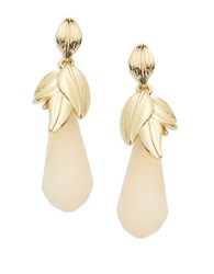 Robert Rose Petal Drop Earrings