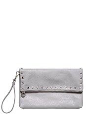 Hallhuber Studded Fold Over Clutch