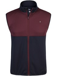 Oscar Jacobson Nevin Tour Gilet Dark Blue