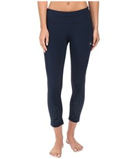 New Balance Precision Run Capris Galaxy Women's Capri Navy