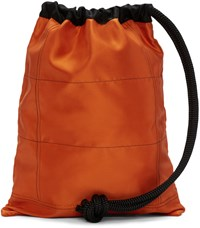 Ribeyron Orange Oversized Bag