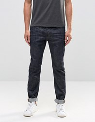 Blend Of America Jeans Twister Slim Fit In Raw Denim Raw Denim Blue
