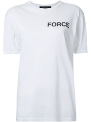 Anrealage Star Wars X Anrealage Force Print T Shirt White