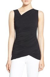 Women's Bailey 44 'Sofia' Ruched Sleeveless Top Black