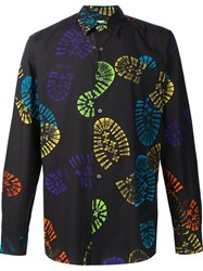 Moschino Boot Print Shirt Black