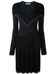 Givenchy Studded Knit Dress Black