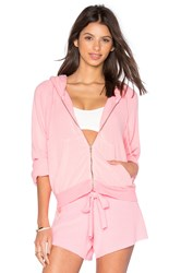Wildfox Couture Basics Hoodie Pink