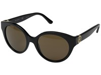 Tory Burch 0Ty7087 Black Smoke Solid Fashion Sunglasses