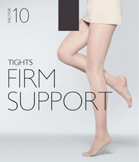John Lewis 40 Denier Firm Support Tights Pack Of 1 Black