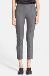 Rag And Bone 'Polly' Crop Wool Pants Charcoal