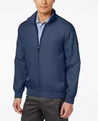 Greg Norman For Tasso Elba Men's Shell Jacket Only At Macy's Soft Navy