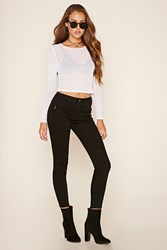 Forever 21 Denim Skinny Pants