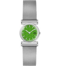 Orla Kiely Cecelia Stainless Steel Watch Green