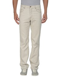Dkny Jeans Trousers Casual Trousers Men Light Grey