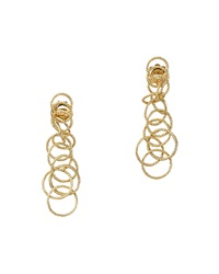 18K Gold Honolulu Earrings 1.5'L Buccellati