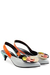 Pierre Hardy Colorblock Leather Pumps Blue