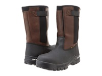 Carhartt 10 Wellington Rugged Flex Waterproof Wellington Brown Black Men's Work Boots