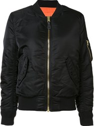 Alpha Industries 'Ma 1' Flight Jacket Black