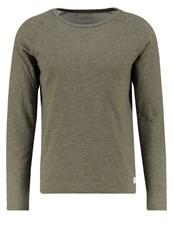 Selected Homme Shxraber Long Sleeved Top Olive Night Light Green