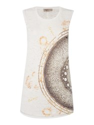 Label Lab Cell Print Tee White