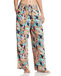 Tommy Bahama Printed Wide Leg Pants Mare Multi