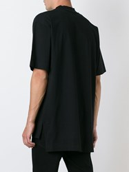 Etudes Studio Mock Neck T Shirt Black