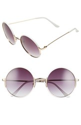 Women's A.J. Morgan 'Oh Nice' 55Mm Round Sunglasses
