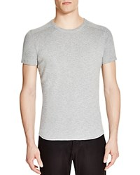 Wings Horns Slub Knit Crewneck Tee Heather Grey