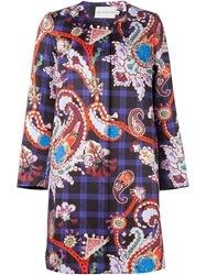 Mary Katrantzou 'Iona' Coat Black