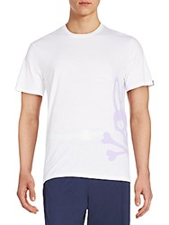 Psycho Bunny Side Logo Graphic Lounge Tee White