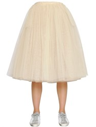 Golden Goose Deluxe Brand Gathered Tulle Midi Skirt