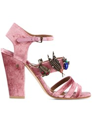Laurence Dacade 'Malena' Sandals Pink And Purple