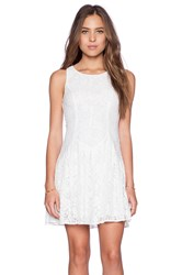 Ladakh Camilla Lace Dress White