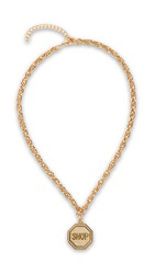 Moschino Necklace Gold