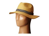 Roxy Beach Memories Straw Hat Natural Fedora Hats Beige