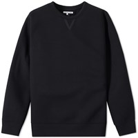 Helmut Lang Taped Jersey Crew Sweat