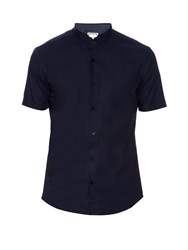Wooyoungmi Double Granddad Collar Cotton Shirt