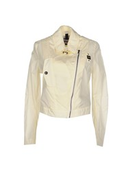 Blauer Coats And Jackets Jackets Women Ivory