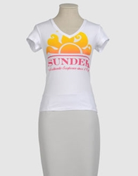 Sundek Short Sleeve T Shirts Lilac