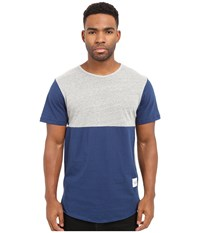 Kinetix Jefferson Tee Gray Blue Men's T Shirt