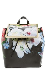 Ted Baker London 'Forget Me Not' Leather Backpack